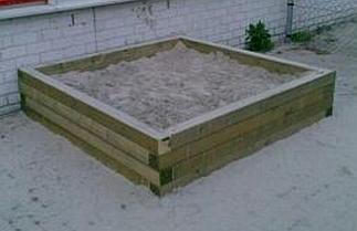 Balken zandbak 1