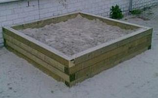 Balken zandbak 3