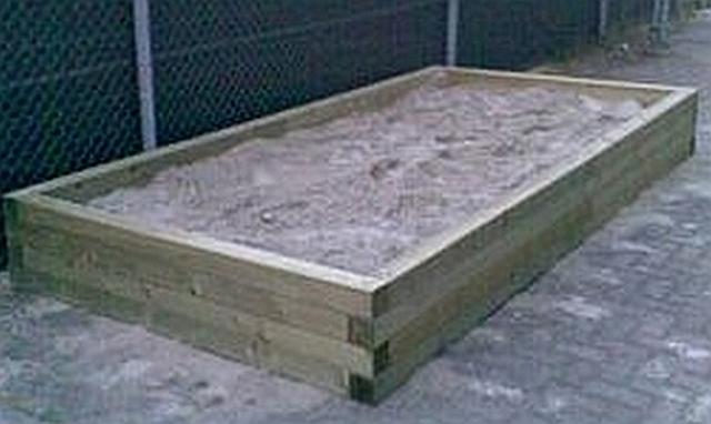 Balken zandbak 4