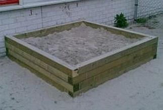 Balken zandbak 5