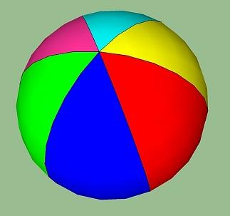Hindernis speelstructuur hangende bal
