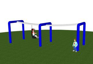 Mindervalide monorail
