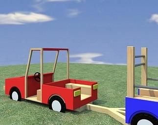 Speeltoestel Terreinwagen