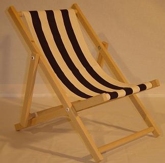 Strandstoel middel