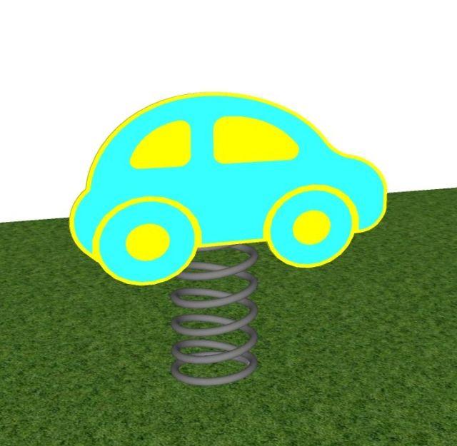 Veerfiguur auto