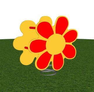 Veerfiguur bloem