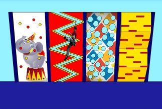 Verticale klimwanden serie circus