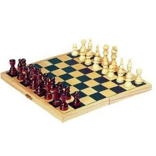 Houten schaakbord opvouwbaar