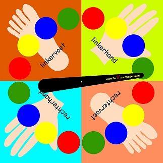 Pleinplakkers twisterbord voor aan de muur of los