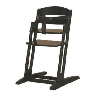 dan high chair zwart