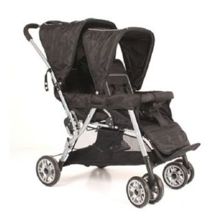 Tandem Cabrio Basic Stitch Black