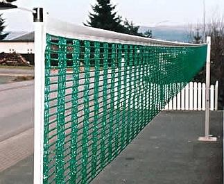 Volleybalnet van 5 mm hercules, groen, 1,0 x 9,5 m