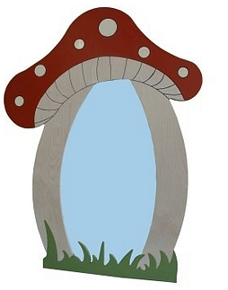 Spiegel paddenstoel