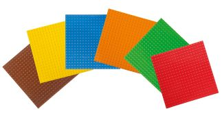 Basis Bouwplaten klein voor bouwstenen Set Basic