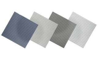 Basis Bouwplaten klein voor bouwstenen Set Grijs tinten