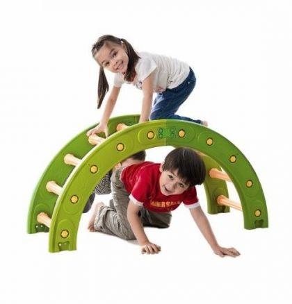 balansboog, halve cirkel