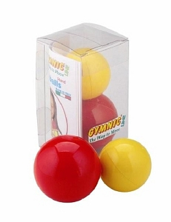Freeballs hand set van 2 balletjes