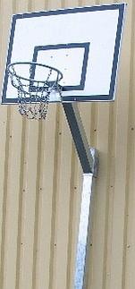 Standaard voor basketbalbord in hoogte verstelbaar