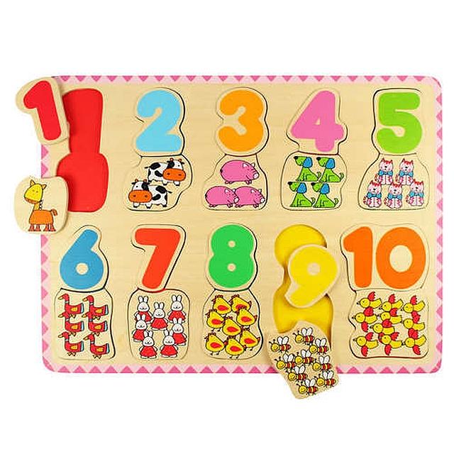 Cijfer en kleurpuzzel