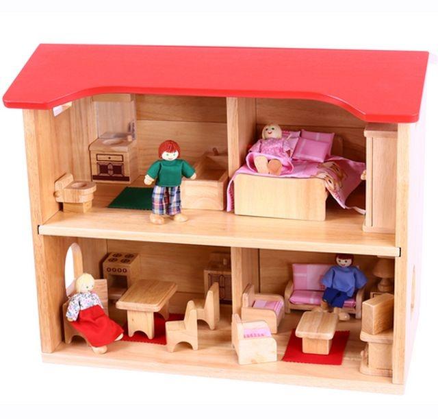 Complete poppenhuisset
