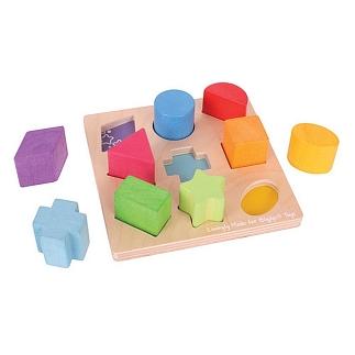 Eerste vormen sorteerspel
