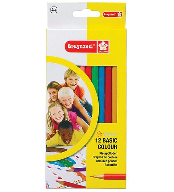 12 x 12 Kleurpotloden per kleur