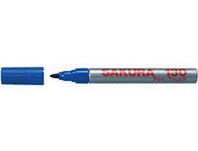 12 x pen-touch 130 permanent marker blauw