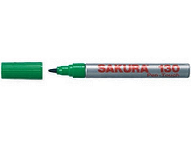 12 x pen-touch 130 permanent marker groen