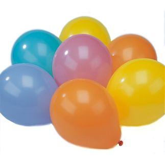 Ballonnen 65/75 cm. ass. 100 x