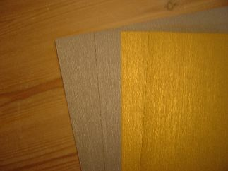 Fotokarton goud/zilver A4; 100 x