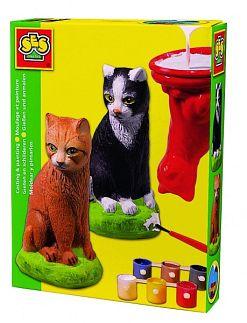 gips gietfiguren dieren 4x