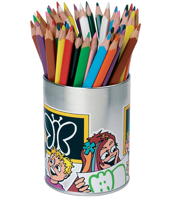 Klassekoker 48 triple kleurpotloden