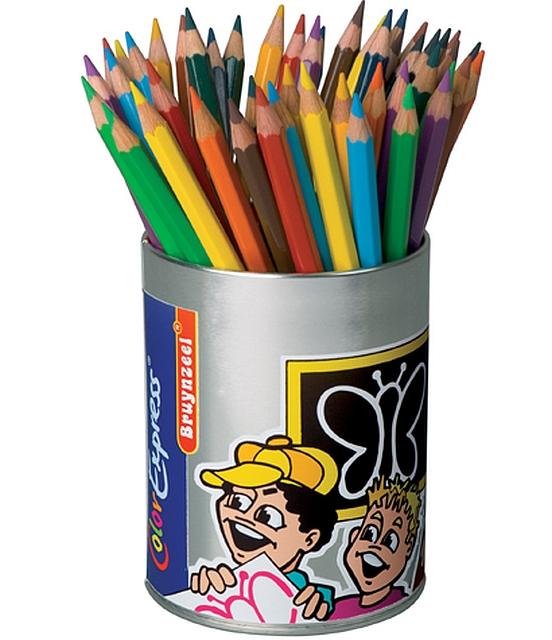 Klassekoker kleurpotloden 48 stuks