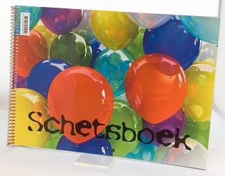 Schetsboek ballon A4 10x