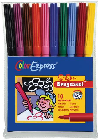 Viltpunters 10 x 10 per kleur