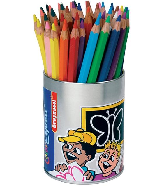 Voordeelset 10 klassekokers mega kleurpotloden