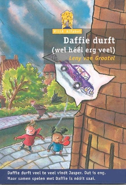 Daffie durft wel heel erg veel, villa alfabet