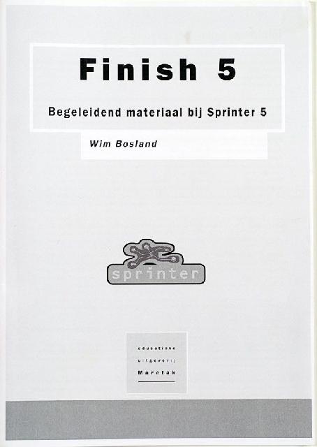 Finish 5, begeleidend materiaal bij sprinter 5