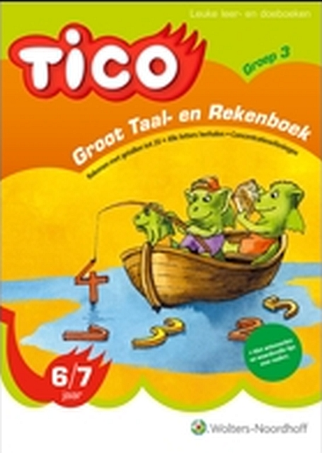 Tico groot taal en rekenboek groep 3