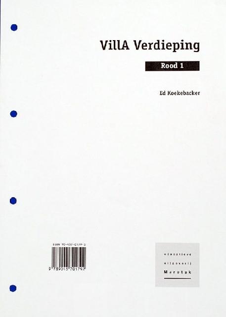 Villa Verdieping Rood 1