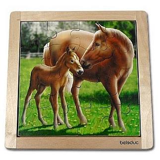 Legpuzzel paard