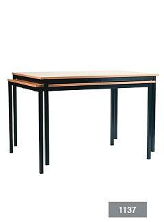 Ecco stapelbare tafel 120 x 60 cm