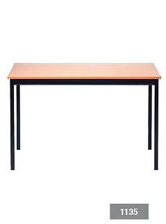 Ecco tafel houten blad 120 x 60 cm