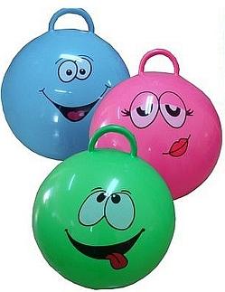 Set skippyballen 3 stuks 55 cm