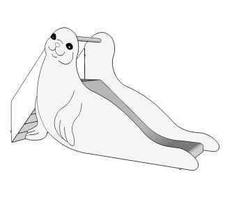 Glijbaan zeehond