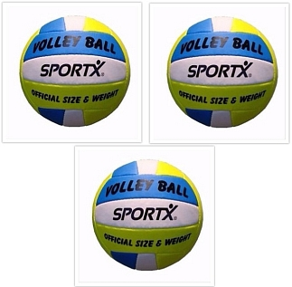 Set van 3 volleyballen