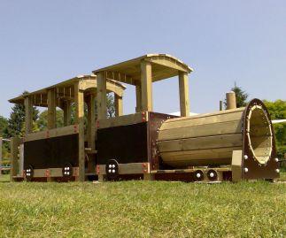 Speeltoestel trein