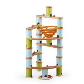Bamboo Planet Knikkerbaan Advanced set