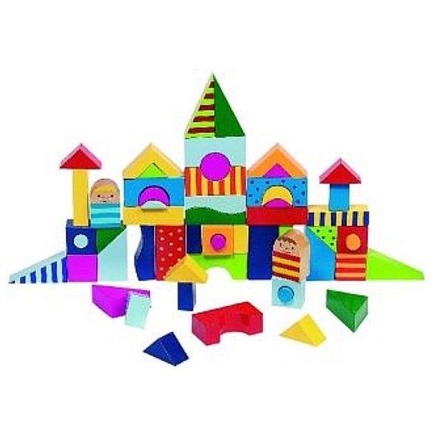 Blokkenpuzzel en bouwblokken set Shalimar Goki