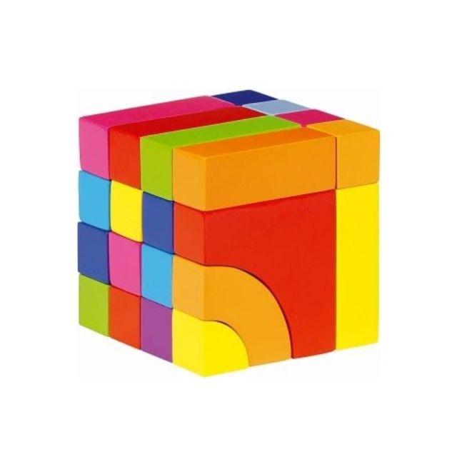 Bouwblokken en puzzel